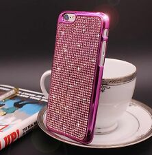 Bling Crystal Diamond Swarovski Case For Apple iPhone Models Free Tempered Glass