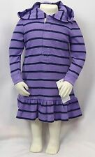 Ralph Lauren Baby Girls Dress, Hooded Long Sleeve Waffle Dress size 12 Months