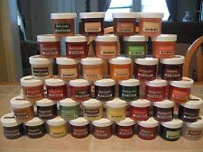 SCENTSY LARGE 2 OZ FRAGRANCE WAX PARTY TESTER JARS (A-G) SCENTS DISCONTINUED