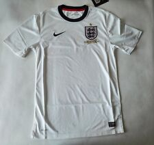 Nike 2013-14 Official England Home Soccer Jersey 150 Years