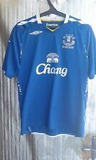 Everton FC original Umbro home shirt jersey trikot maglia 07-08 season Size L