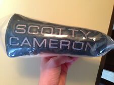 RARE Scotty Cameron Ballistic Black Putter Head Cover - Brand New In Bag