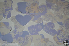 Vintage LILAC TABLE WEDDING CONFETTI romantic Ivory lilac lavender VERY STYLISH