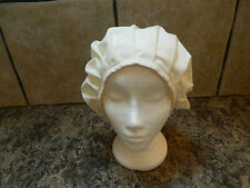 LADIES/GIRLS CREAM MEDIEVAL, PURITAN,  BONNET