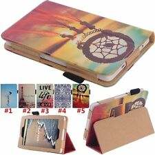 Flip Wallet Leather Folio Case Stand Cover For Amazon Kindle Fire HD 6 Tablet