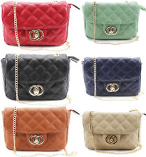 UK Ladies Party Chain Quilted Bag Women Shoulder Satchel Prom Evening Handbag Ne