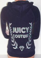 Women's Juicy Couture Bling VELOUR HOODIE JACKET Pick size & color NWT $45-$60