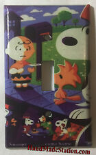 Peanuts Snoopy Come home 1972 Poster Light Switch Outlet Cover Plate Home Decor