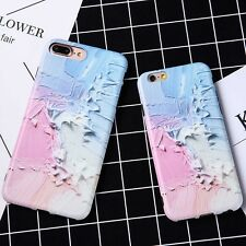 Retro Colorful Paint Soft Silicone Bumper Case Cover For Apple iPhone 6s 7 Plus