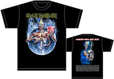 IRON MAIDEN 7th Son, Maiden England Tour 2013 RARE HQ Official Licensed T-shirt