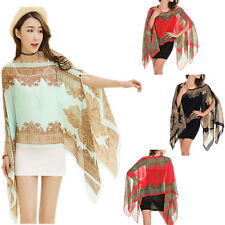 Chiffon Sunscreen Summer Long Soft Scarves Shawl Neck Wrap Scarf Stole Scarves