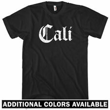 Cali Gothic T-shirt - Men S-4X - Gift Los Angeles San Francisco Diego California