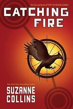 THE HUNGER GAMES CATCHING FIRE 2  by Suzanne Collins (2009, HC) 1ST PRINTING