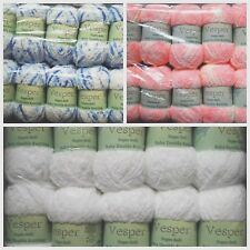 Vesper/Teddy Supersoft Baby DK Double Knitting Wool/Yarn -50g -Choice Of Colour