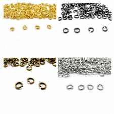 Split Jump Rings Open Connector Jewelry Finding 4/5/6/8/10/12/14/20mm DIY