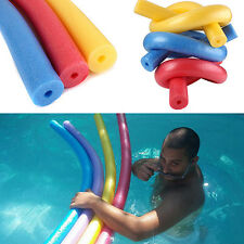 Flexible Swimming Pool Foam Water Hollow Noodle Kids Adult Float Swim Aid Clever