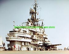USN USS Valley Forge  CV-45 Color Photo Military 1949 F8F-2 Bearcat Fighter