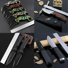 Newest Assisted Opening Knife Tactical Rescue Camping Folding Pocket Saber Gift