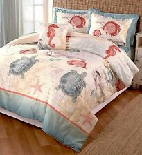 Seaside Comforter & Sham Bedding Set Twin Full/Queen King NEW