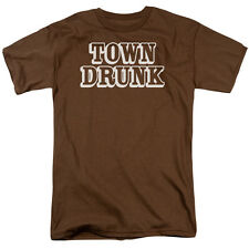 TOWN DRUNK Humorous Adult T-Shirt All Sizes