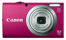 Canon PowerShot A2300 16.0 MP Digital Camera - Red