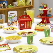 DEAR ZOO Party Tableware & Decorations - 1st Birthday Boy / Girl Rod Campbell