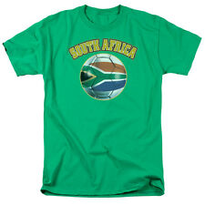 SOUTH AFRICA Football Soccer South African Flag T-Shirt All Sizes