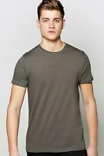 Boohoo Mens Basic Crew Neck T Shirt