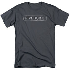 RIVERSIDE Music Distressed Logo Licensed Adult T-Shirt All Sizes