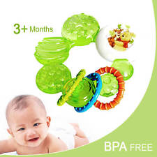 Baby Teething Ring Water Filled Rattle Teether BPA Free Toy 3 months+ New Toy