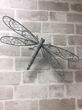 Dragonfly Butterfly Bumble Bee Wall Mounted Metal Garden Chic In or Outdoors New
