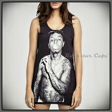 LIL WAYNE Free Weezy Young Money TATTOO HipHop Tank Top WOMEN T-Shirt S M L