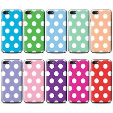 STUFF4 Phone Case for HTC One Smartphone/Polka Dot Pattern/Protective Cover