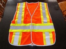 Orange Safety Vest  High Visibility Mesh Hunting Construction