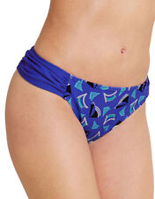 figleaves Womens Casablanca Ruched Side Bikini Brief