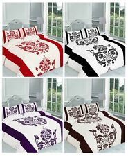 Darcy Printed Duvet Cover Bedding Set Single Double King Super King