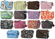 NWT BRAND NEW Original Ju Ju Be Be All Messenger Diaper Bag Choose Your Color