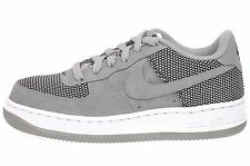 Nike Air Force 1 Premium Kids GS Youth Boys Girls Casual Shoes Grey 748981-005