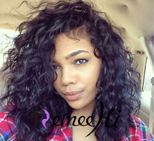 """12""""-18"""" malaysia soft curly  human hair full / front lace wig brazilian hair"""