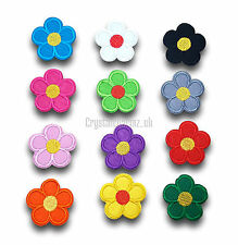 Daisy Flower Iron / Sew On Embroidered Patch Applique Motif *buy1get1half price*