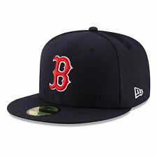 Boston Red Sox 2017 59Fifty Authentic Fitted Performance Game MLB Baseball Cap