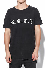New KISS CHACEY Mens Messenger Tee Black