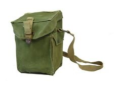 Original WW2 British Gas Mask Bag - Genuine MKII Respirator Carrier Holder Case
