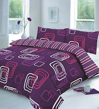 NEW BLAKE PRINTED DUVET COVER SET Bed Pillow Case Single Double King Super King