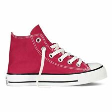 Converse Chuck Taylor All Star Hi Red Kids High Top Trainers