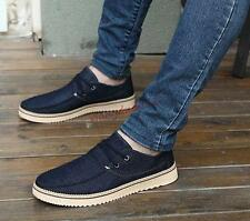 Mens Fashion Sneakers Spring Canvas Flats Coyboys Loafers Skateboard Shoes #