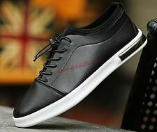 Mens/Teenagers Korean Fashion Flats Skateboard Sneakers Lace-up Casual Shoes new