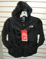 THE NORTH FACE GIRLS OSO HOODIE FLEECE JACKET-# APZE - S. XL-TNF BLACK -NEW