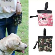 Pet Dog Puppy Travel Training Walking Bag Food Treat Pouch Poop Bags Dispenser