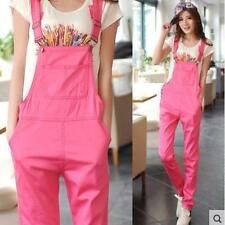 Womens/Girls College Fashion Overall Loose Casual Candy ColorS Trousers Pants
